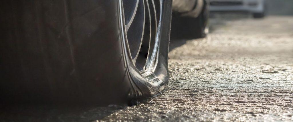 danneggiamenti dello pneumatico